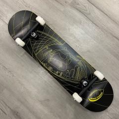 "Скейтборд FOOTWORK PROGRESS TUSHEV FISH EYE YELLOW/BLACK 8.0"""